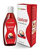 #5: NutroActive Lipolyzer Fat burning oil (275 ml), slimming oil, Fat Burner for Body Shaping & Weight Management