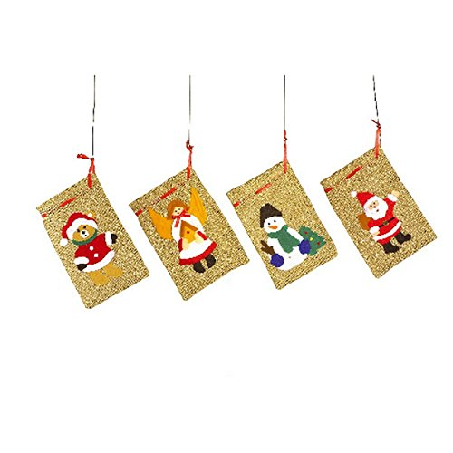 Wohn-jute (Legler 1691 - Weihnachts Jute-Säckchen, 4-er Set)
