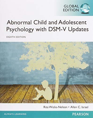 Art Book Abnormal Child And Adolescent Psychology With Dsm V