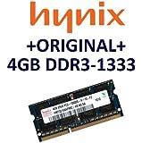 HYNIX 1x 4 GB 204 pin DDR3-1333 SO-DIMM (1333Mhz, PC3-10600S, CL9) - HMT351S6CFR8C-H9
