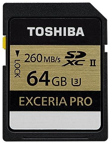 Toshiba THN-N101K0640E6 64GB Exceria Pro N101 SD Karte