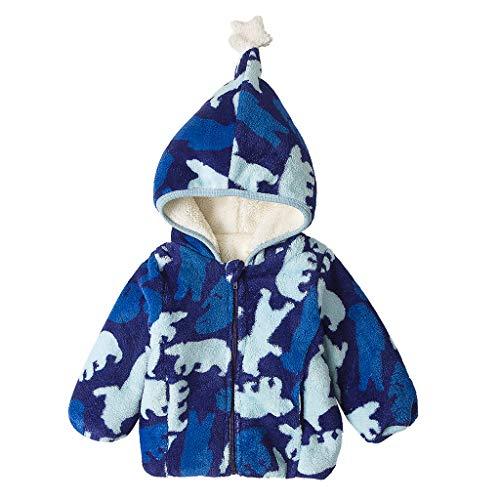 squarex ® Baby Wintermäntel Jacke Kid Zip Thick Snowsuit Hoodie Overcoat Mädchen Casual Strampler Jungen Bequemer Overall -