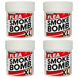 Professional Strength XL 15g Flea Smoke Bomb Fogger Fumigator Smoke | Kills Fleas (4)