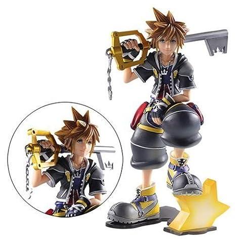 Kingdom Hearts II Sora Static Arts Gallery Statue
