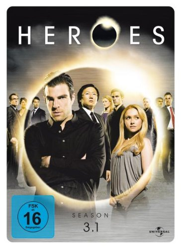 Universal Pictures Germany GmbH Heroes - Season 3.1 (3 DVDs, limited Steelbook)