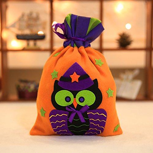 Kostüm Definition Film (Zantec Halloween Theme Pattern Non Woven Stofftaschen Drawstring Sack Süßigkeiten Geschenk)