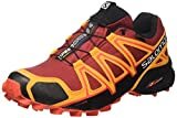 Salomon Speedcross 4 GTX, Zapatillas de Senderismo para Hombre, Rojo (Red Dalhia/Bright Marigold/Fiery Re), 42 EU