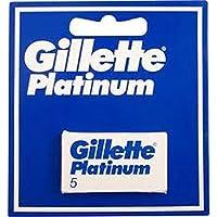 Gillette Platinum Lame De Rasoir - 5 Unités