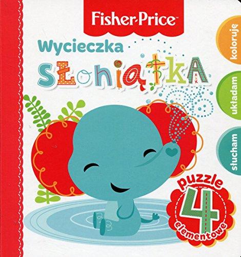 Fisher Price Puzzle Wycieczka sloniatka
