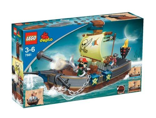 LEGO Duplo Piraten 7881 - Piratenschiff Fürstin der Finsternis