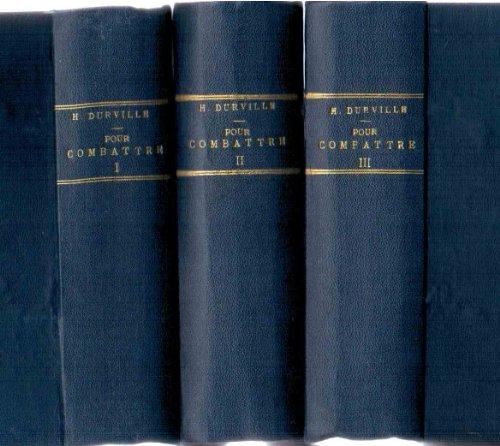 Pour combattre... - 43 titres reliés en 3 volumes - La neurasthénie, les névroses, les maladies de la peau, les rhumatismes, la surdité, la goutte, accidents de grossesse, hémorroïdes, insomnie, magnétisme des animaux,... - environ 1600 pages