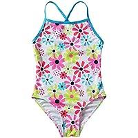 Liuzecai Trajes de baño Lindo Trajes de baño Trajes de baño Chicas for los niños de una Pieza de Ropa de Playa S-XL para Las niñas Niños (Color : White, Size : S)