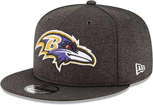 New Era NFL Baltimore Ravens Authentic 2018 Sideline 9FIFTY Snapback Home Cap, Größe :M/L - Era Ravens New Cap