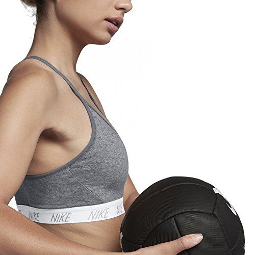 Nike Damen Indy Soft Sport-Bh Carbon Heather/Cool