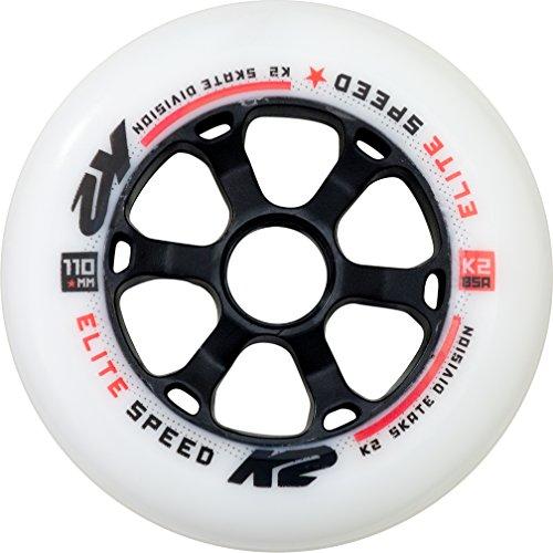 K2 Skates 110mm Elite Wheel 4-Pack Inline Skate Ersatzrollen 4er Pack 30B3012.1.1-110mm