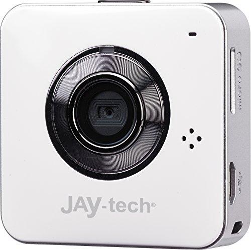 Jaytech Quad Phone IP Cam U30 Wireless Videokamera (1 Megapixel, Mikrofon, micro-SD-Kartenslot, micro-USB) für Smartphone und Tablet-PC