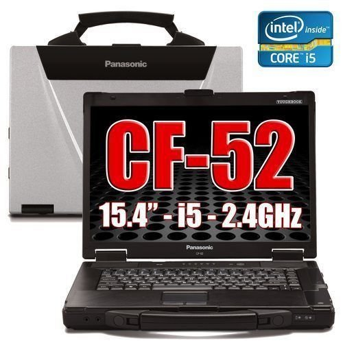 Panasonic Cf-52 Toughbook Laptop 4Gb 120 GB Windows 10 32/64 Bit Rugged.