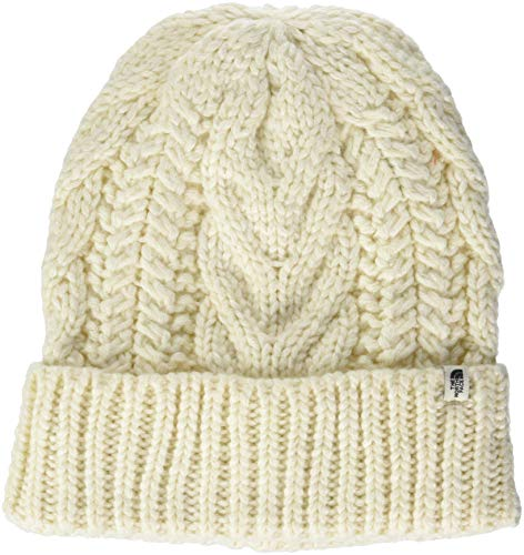 THE NORTH FACE Cable Minna Beanie, Vintage White, One Size - North Frauen Face Für Mützen