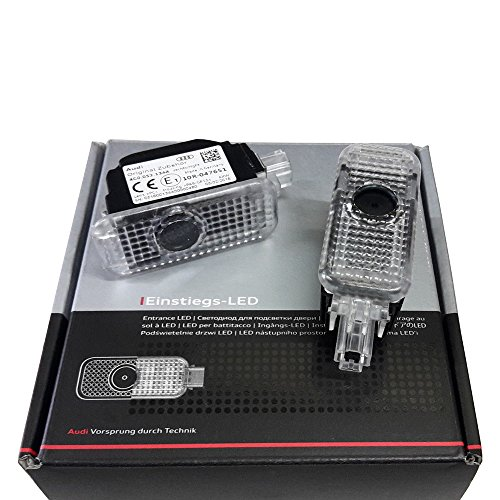 Audi 4G0052133A Einstiegs Ringe für Fahrzeuge mit Einstiegsbeleuchtung LED