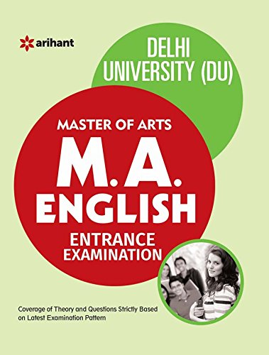 The Perfect Study Resource for - Delhi University M.A. English Entrance Test