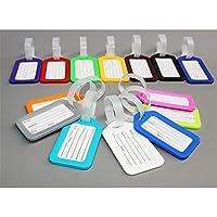 Magik 20oficina de viajes etiqueta de equipaje plástico Maleta Equipaje Nombre Dirección Etiqueta de identificación