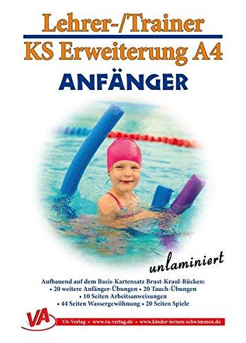 Preisvergleich Produktbild Erweiterung Anfänger: für das Lehrschwimmbecken, unlaminiert (Lehrer-/Trainer-Kartensatz unlaminiert / Arbeitskarten für den Schwimmunterricht)