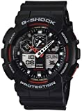 Casio GA100-1A4 G-Shock Mens Bold face-Tough Body Analog dial Watch