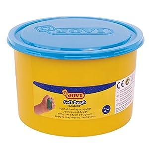 Jovi - Soft Dough Blandiver, Bote de 460 g, Color Azul flúor (46006F)