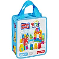 Mega Bloks Build and Learn to Count Bag