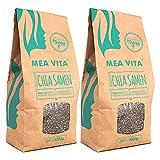Meavita Semillas De Chía Meavita Premium, Paquete 2Er (2 X 1 Kg) 2 Unidades 1000 g
