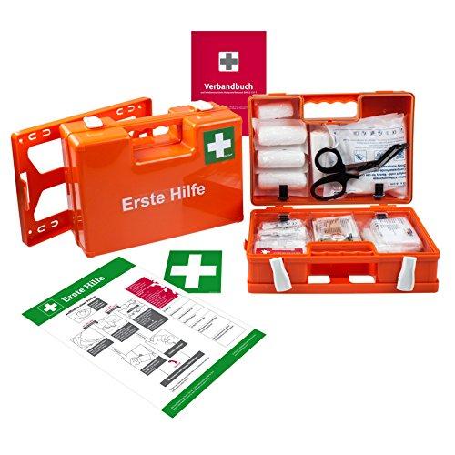 DocCheck Erste-Hilfe-Koffer (mit Füllung DIN 13157)