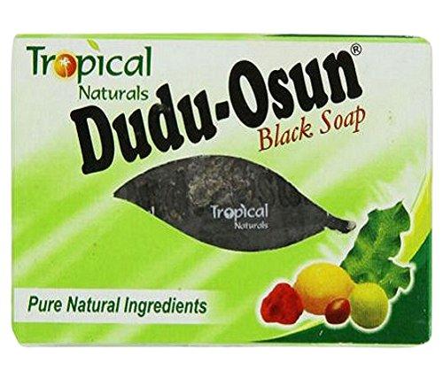 Dudu Osun Tropische Rein Seife Stellt Wieder Her Beschädigt Haut, Naturschwarz 150 G