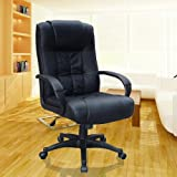 EXECUTIVE OFFICE CHAIR PADDED LEATHER HIGH BACK OFFICE - Best Reviews Guide
