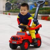 GoodLuck Baybee Kids Power Wheel Ride On Jeep Push Car for Toddlers Ba