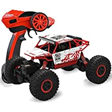 RC Auto Macchina Telecomandata, 1:18 4WD RC Buggy Rock Crawler 2.4GHZ Auto Radiocomandata per Bambini