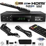 Echosat 20700 S Aktualisierter Digitaler Satelliten Receiver (HDTV, DVB S S2, HDMI, SCART, 2x USB 2 0, Full HD 1080p) (Vorprogrammiert f r Astra Hotbird und T rksat)