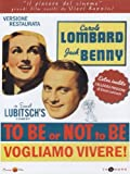 To Be Or Not To Be - Vogliamo Vivere! (Ed. Restaurata) [Italian Edition] by robert stack
