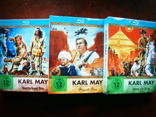 Karl May BLU-RAY Collection WINNETOU & OLD SHATTERHAND Mexiko + Orient / Kara Ben Nemsi Box