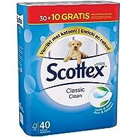 Scottex Classique Pack de 40 Rouleaux de Papier Toilette