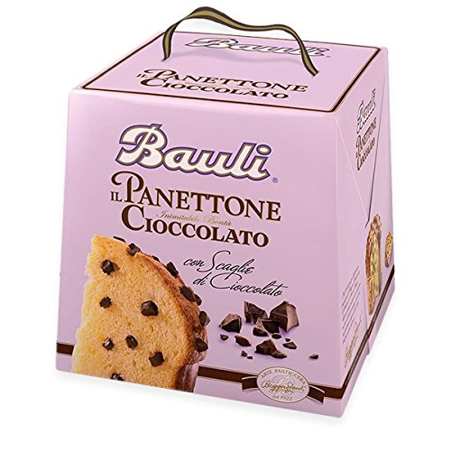 Panettone bauli con scaglie di cioccolato 750 grammi