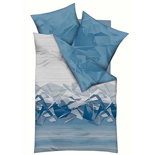 Kaeppel Bettwäsche mit zeitlos modischen Motiven, Qualitätsware zum günstigen Preis aus Deutschland, 100% Baumwolle, Verschiedene Modelle und Qualitäten (Vision, Mako-Satin) - Home Visions-set Bett