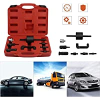 FGHGFCFFGH 8 Pcs Common Engine Fuel Injection Tool Set Rail Injector Puller Extractor For Benz Car Auto Repair Tool