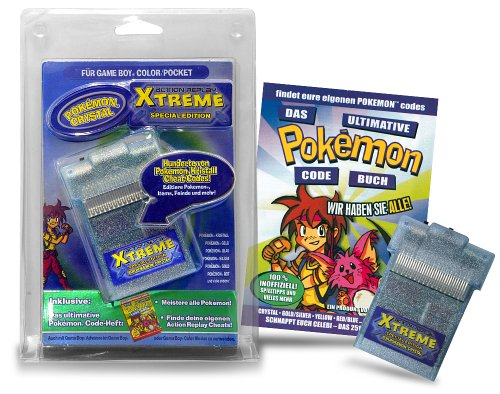 Game Boy - Action Replay Xtreme - Pokemon Edition (Game Boy Cheat)