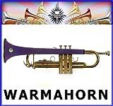 warmahorn Trompette en néoprène Housse de protection, Violet