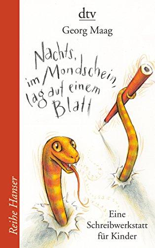 Preisvergleich Produktbild Nachts,  im Mondschein,  lag auf einem Blatt: Eine Schreibwerkstatt für Kinder (Reihe Hanser)