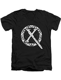 Xena: Warrior Princess - Männer mit V-Ausschnitt T-Shirt Sigil