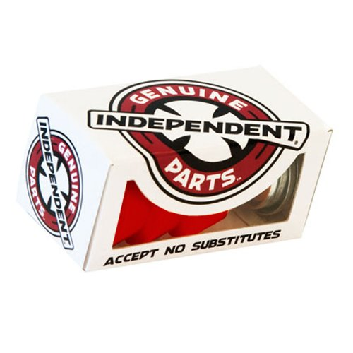 Independent Rot Standard Soft 90A Skateboard-Lenkgummis (One Size, Rot)
