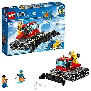 LEGO CityGreatVehicles GattodelleNevi, Giocattolo con Pala Spazzaneve, Set di Costruzioni per Bambini, 60222 5702016369540 LEGO