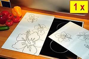 premium prot ge pi ces blanc panneau de protection pour cuisini re en verre pour plaques. Black Bedroom Furniture Sets. Home Design Ideas