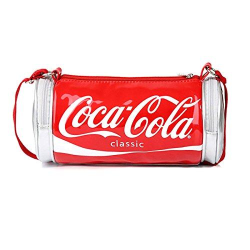 NUBIAN Femmes Sacs Sac à Main PU Cuir Coca Cola